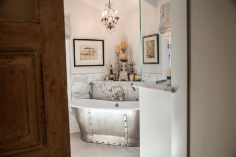 浴室推拉门混搭风格装修效果图
