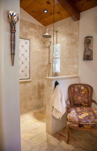 浴室推拉门混搭风格装饰效果图