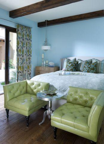 卧室地中海风格装修效果图