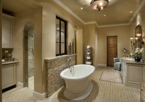 浴室地中海风格装饰设计图片