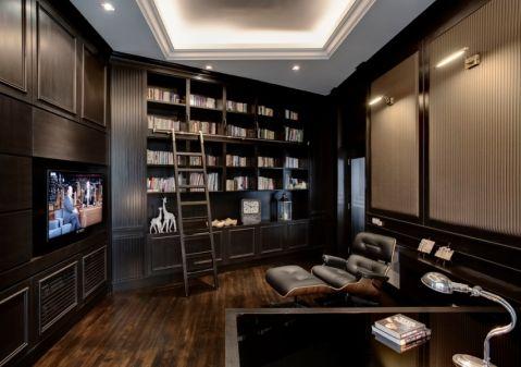 书房现代风格装修图片