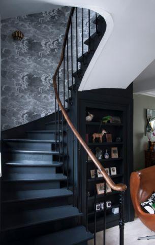 楼梯混搭风格效果图