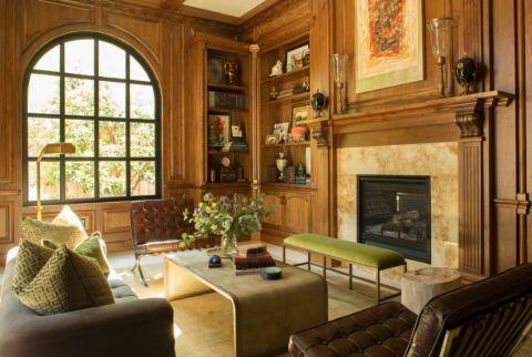 客厅背景墙地中海风格效果图