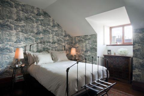 卧室现代风格效果图大全2017图片_土拨鼠休闲富丽卧室现代风格装修设计效果图欣赏
