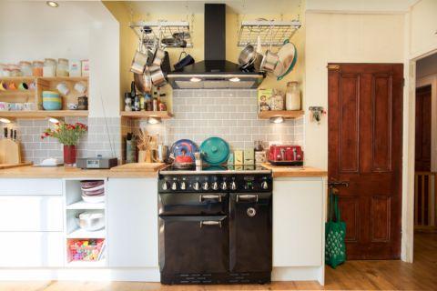 厨房混搭风格效果图大全2017图片_土拨鼠唯美创意厨房混搭风格装修设计效果图欣赏