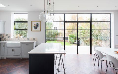 厨房推拉门现代风格装饰效果图