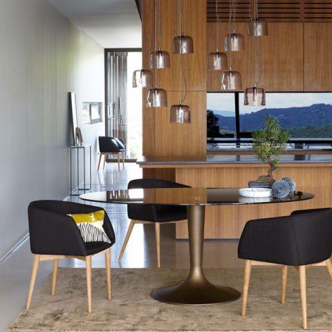 餐厅灯具现代风格装修效果图