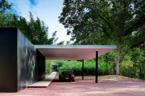车库地板砖现代风格装饰设计图片