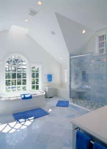 浴室美式风格效果图大全2017图片_土拨鼠现代奢华浴室美式风格装修设计效果图欣赏