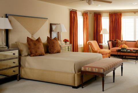 卧室窗帘混搭风格装饰效果图