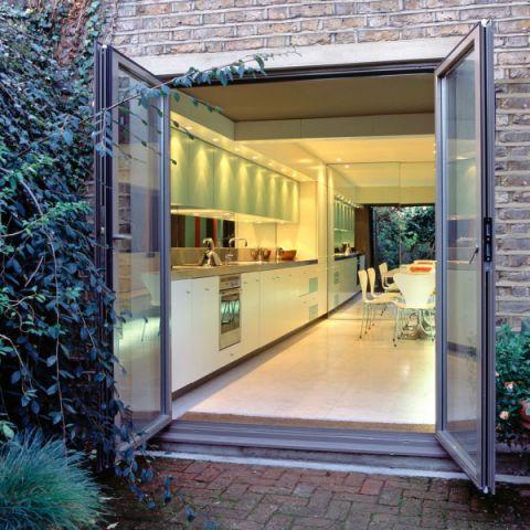 厨房推拉门现代风格效果图