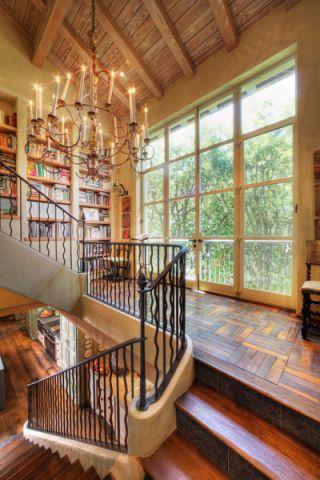 书房灯具混搭风格装修效果图