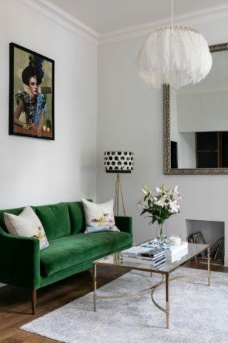 客厅灯具现代风格装潢图片