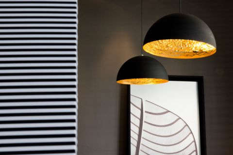 厨房灯具现代风格装饰图片