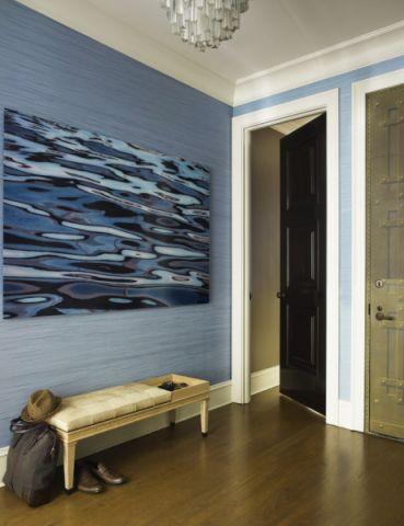 玄关背景墙混搭风格效果图