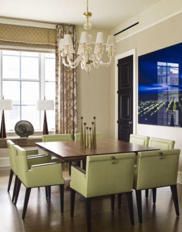 餐厅灯具混搭风格装修效果图