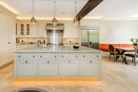 厨房灯具现代风格装潢图片