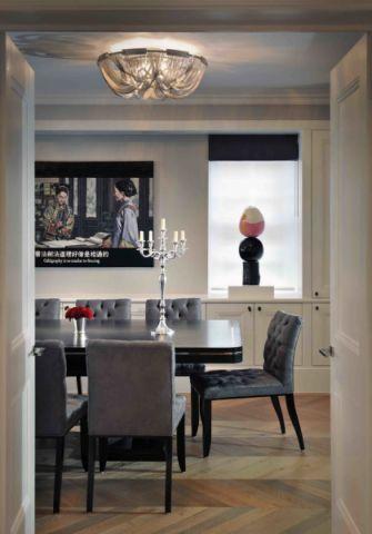 餐厅灯具现代风格装饰设计图片