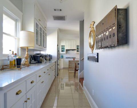 厨房走廊混搭风格装饰图片