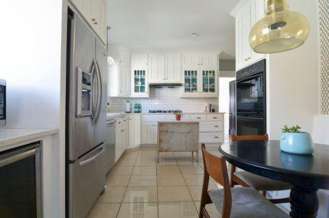 厨房餐桌混搭风格效果图