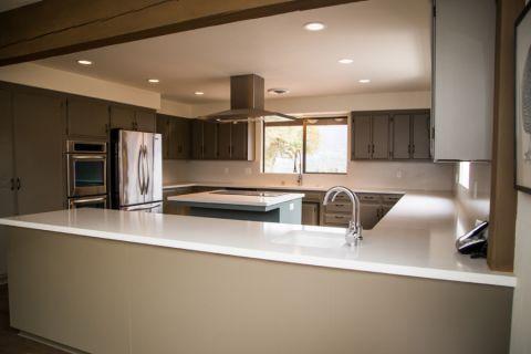 厨房现代风格效果图大全2017图片_土拨鼠唯美格调厨房现代风格装修设计效果图欣赏