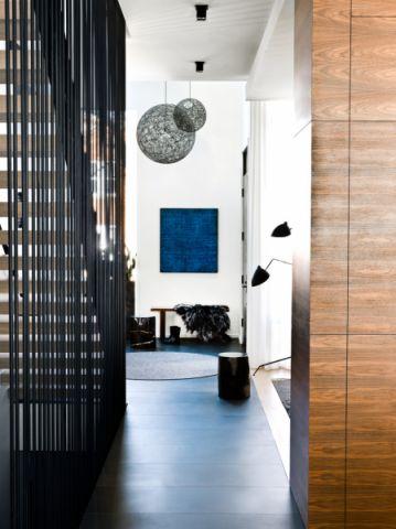 玄关吊顶北欧风格装饰设计图片