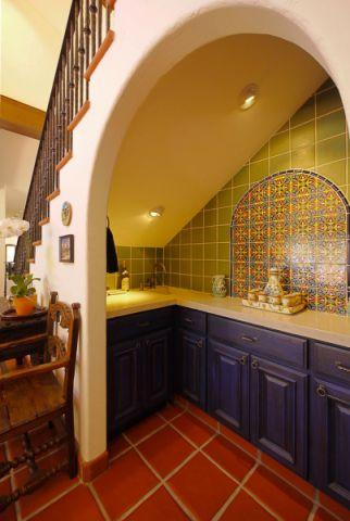 酒窖地板砖地中海风格装修设计图片