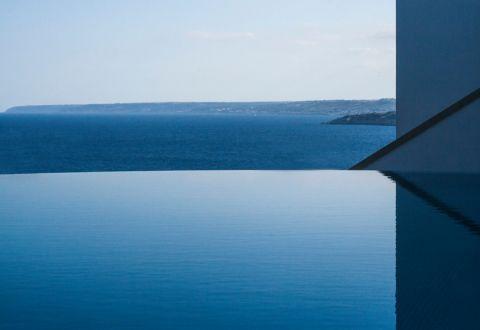 花园泳池地中海风格装潢图片