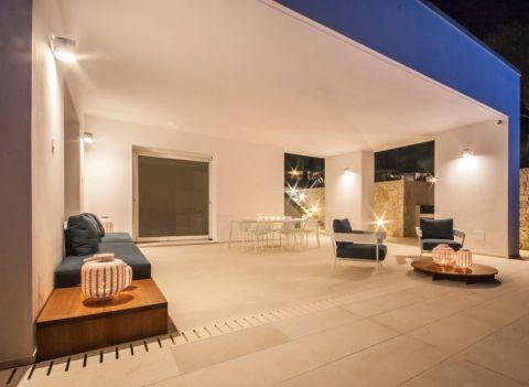 阳光房吊顶地中海风格装潢设计图片
