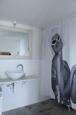 浴室背景墙混搭风格装饰设计图片
