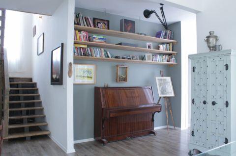 玄关背景墙混搭风格装饰效果图