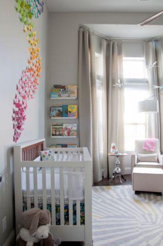 儿童房混搭风格装饰设计图片