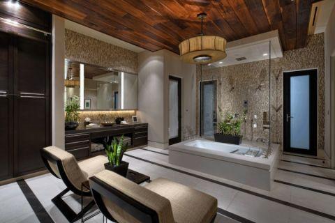 浴室吊顶现代风格效果图