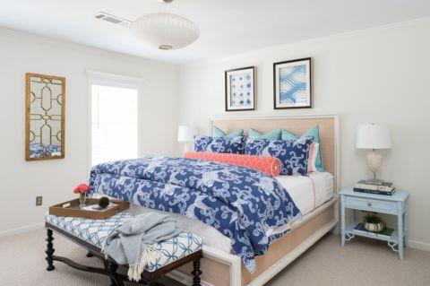 卧室照片墙地中海风格装修设计图片