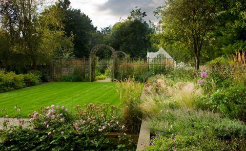 花园细节美式风格装饰效果图