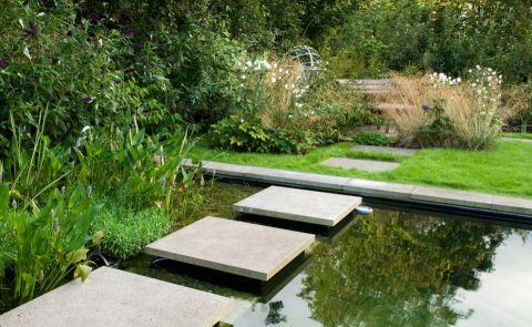 花园细节美式风格装潢效果图