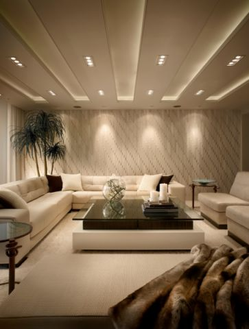 客厅沙发现代风格装修设计图片