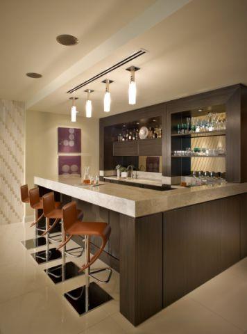 客厅吧台现代风格装修效果图