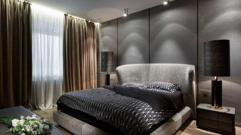 卧室现代风格效果图大全2017图片_土拨鼠大气个性卧室现代风格装修设计效果图欣赏