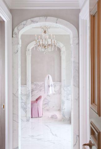 浴室地板砖地中海风格装潢设计图片