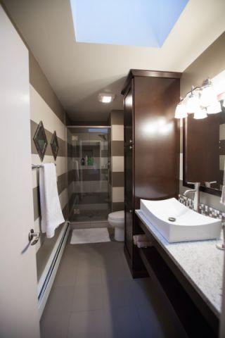 浴室吊顶混搭风格装饰设计图片