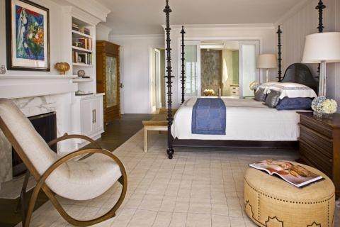 卧室博古架现代风格装饰图片