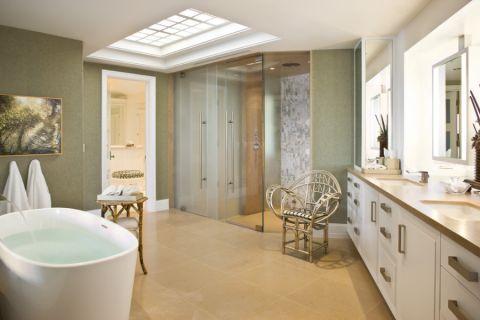 浴室吊顶现代风格装潢图片