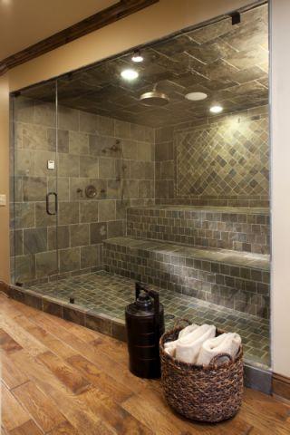 浴室地板砖美式风格效果图