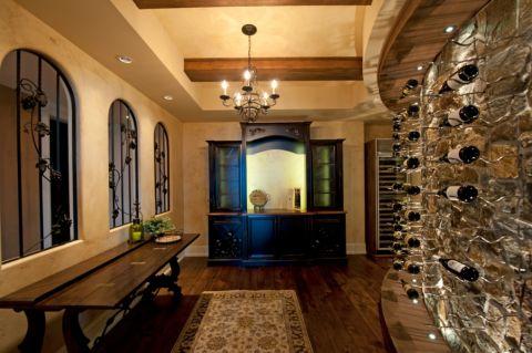 酒窖走廊现代风格装潢图片