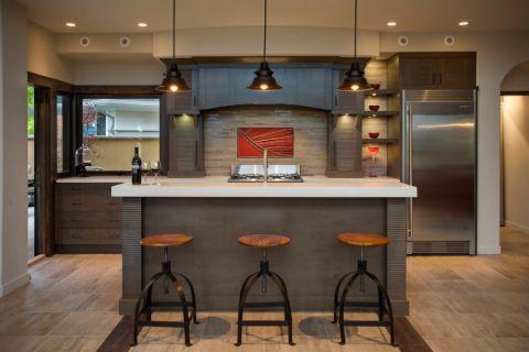 酒窖吧台现代风格装修设计图片