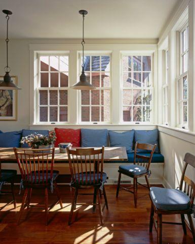餐厅窗台美式风格装修图片
