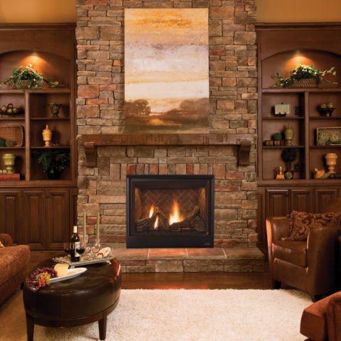 客厅博古架美式风格装修效果图