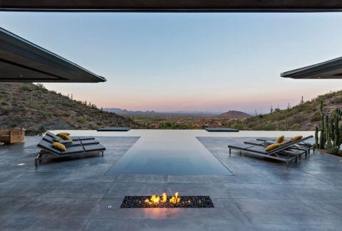 花园地板砖现代风格装修效果图