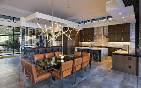餐厅餐桌现代风格装修设计图片